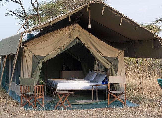 Serengeti Halisi camp - Planning a Budget Safari in Tanzania - Budget Lodges