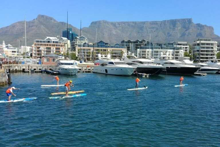 Supping Cape Town