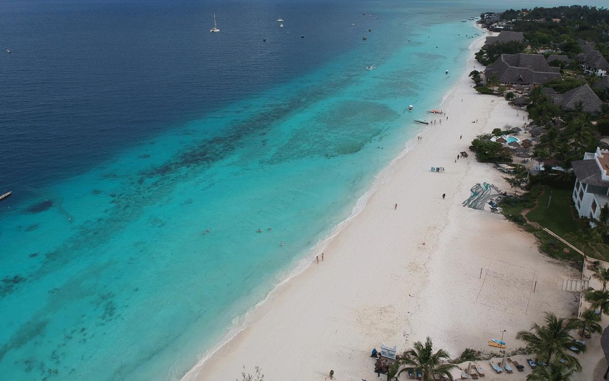 Water activities in Zanzibar